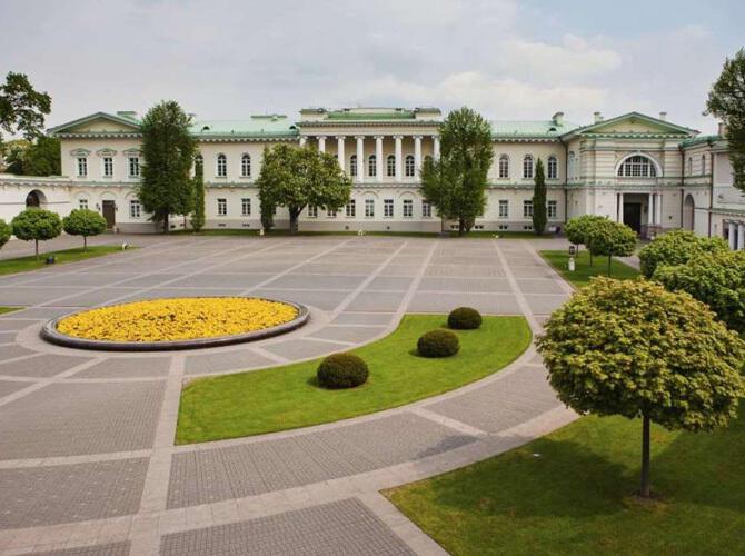 Ак Орда вошла в топ-10 самых красивых президентских дворцов. 1. Президентский дворец в Вильнюсе, в Литве. Фото с сайта http://fullpicture.ru/