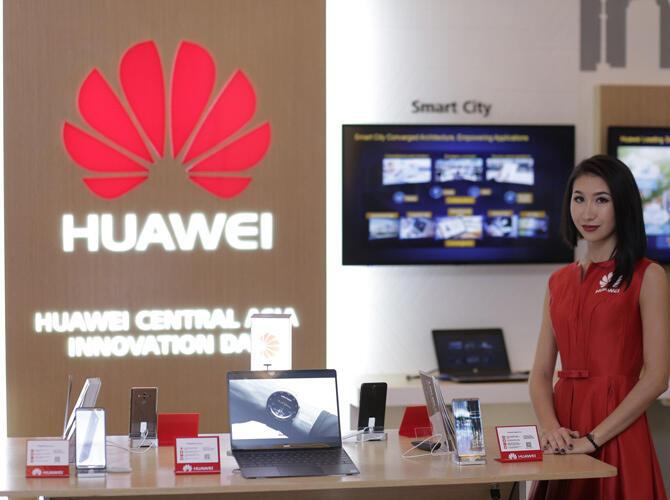 Huawei  организован первый Центрально-Азиатский День инноваций, собравший ведущих экспертов IT-отрасли со всего мира. Центрально-Азиатский День инноваций Huawei в Астане