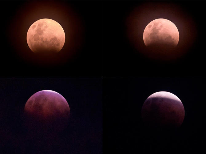 Super Blue Blood Moon Eclipse. Фото: sputniknews.com