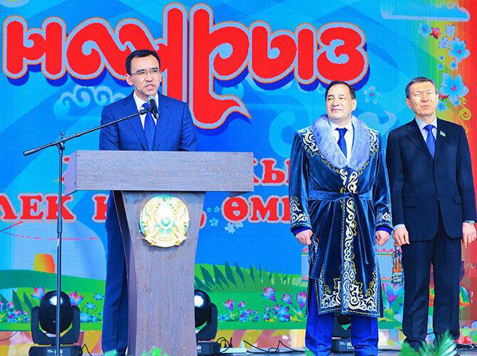 Казахстан празднует Наурыз мейрамы. Мангистау