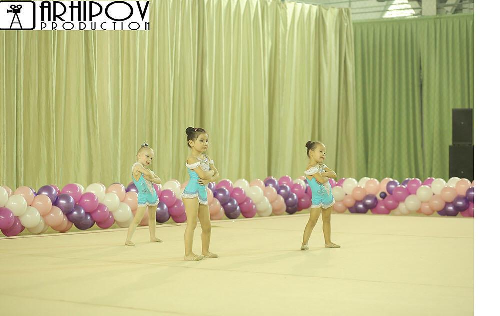 В Алматы проходит третий день Кубка Клуба художественной гимнастики Н.Кузнецовой