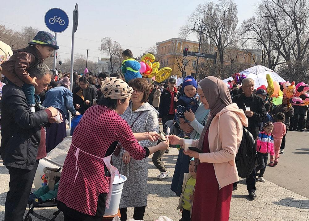 В Алматы отметили Наурыз