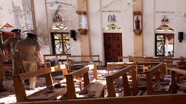 Серия взрывов произошла в храмах и пятизвёздочных отелях Шри-Ланки 21 апреля, в католическую Пасху. Фото:www.gazeta.ru