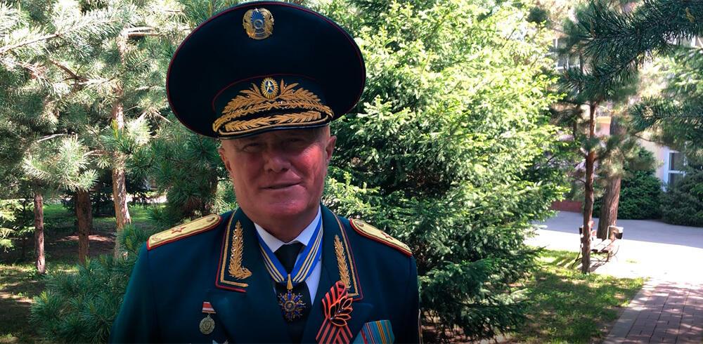 Поздравление с Днем Победы генерала П. М. Новикова
