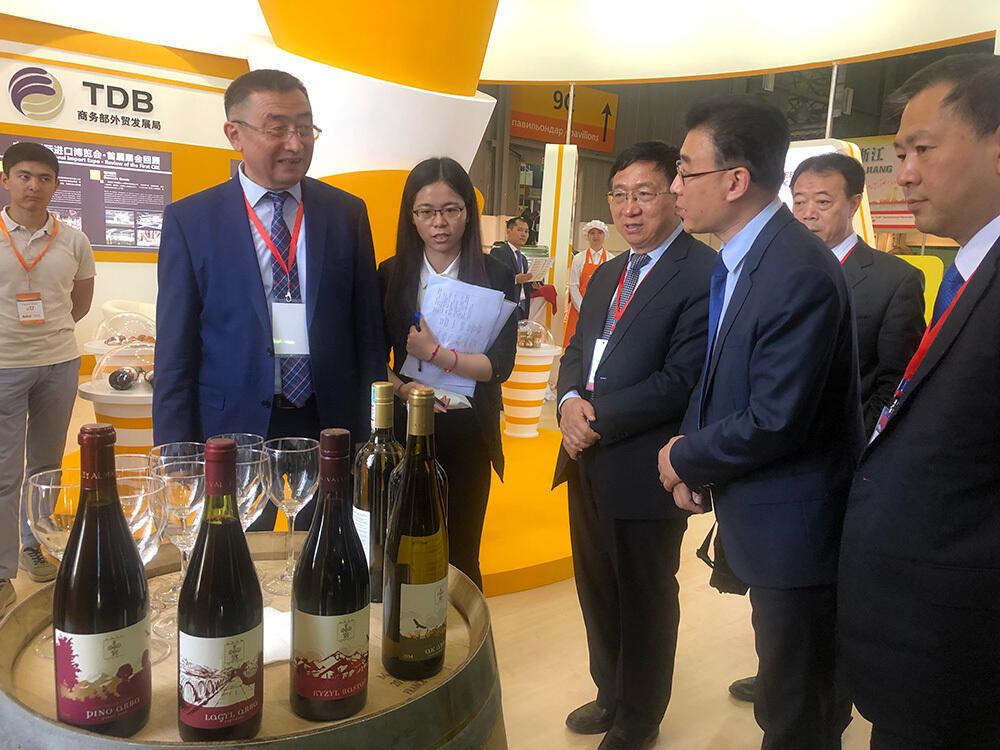 Церемония открытия XVII Выставки китайских товаров в Алматы