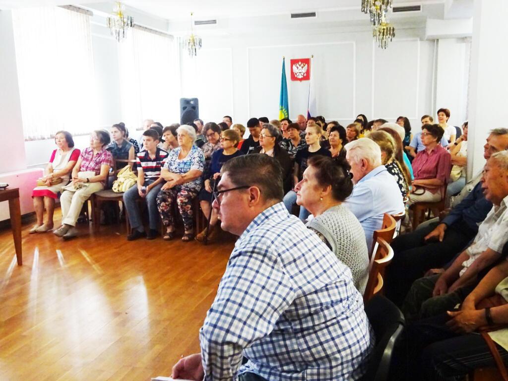 Лекция по некрополистике в Алматы