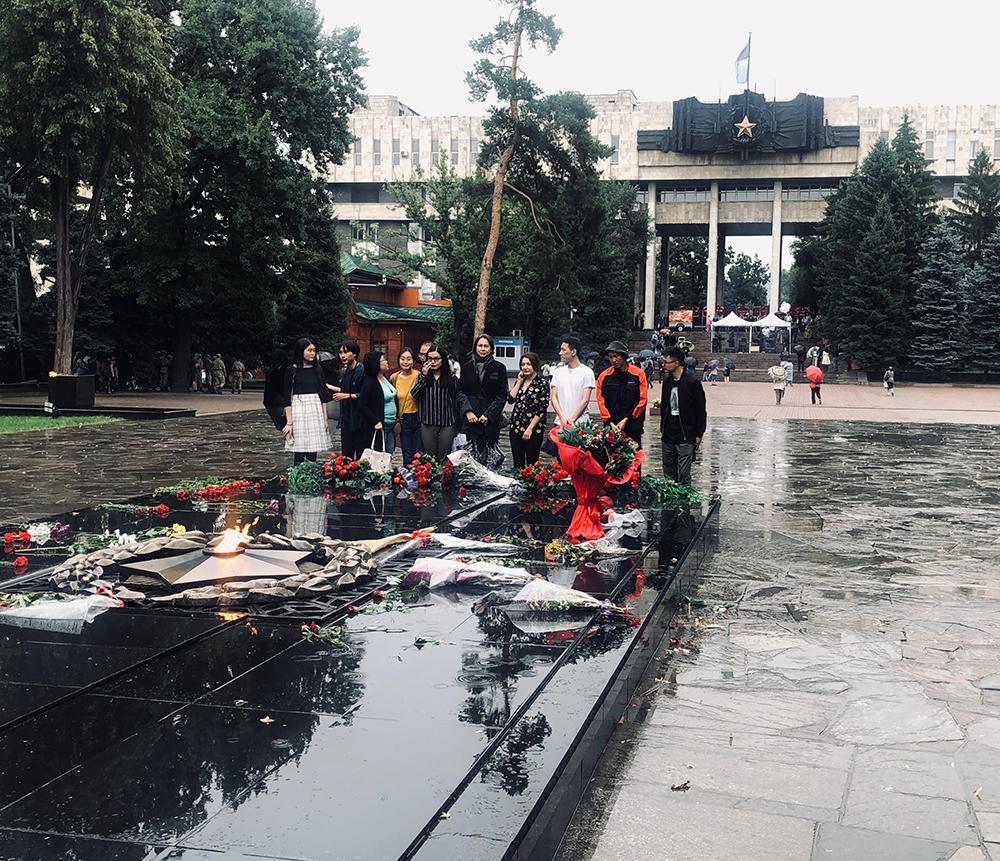 В Алматы прошли мемориальные мероприятия, посвящённые 78-й годовщине начала Великой Отечественной войны. Возложение