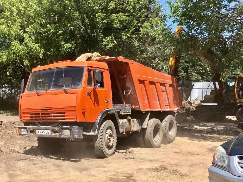 Работы по реконструкции Ботанического сада в Алматы уже начались