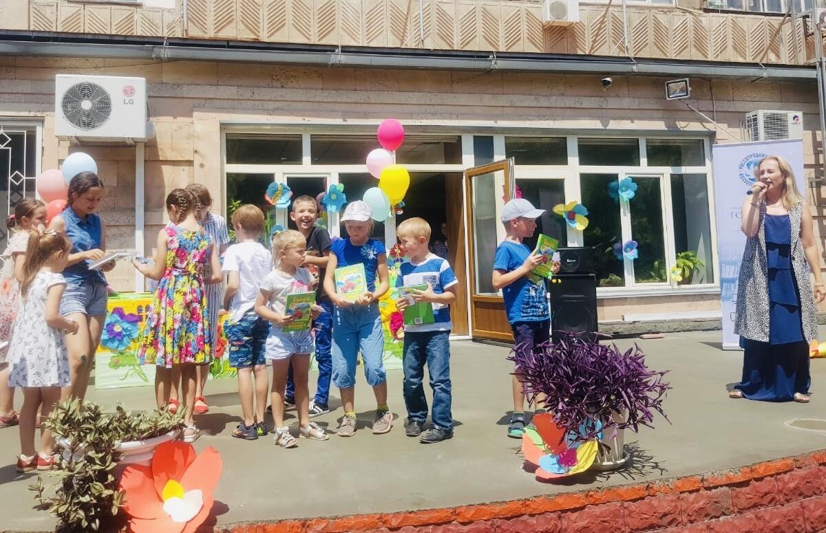 Детский праздник, посвящённый Году книги в странах Содружества Независимых Государств