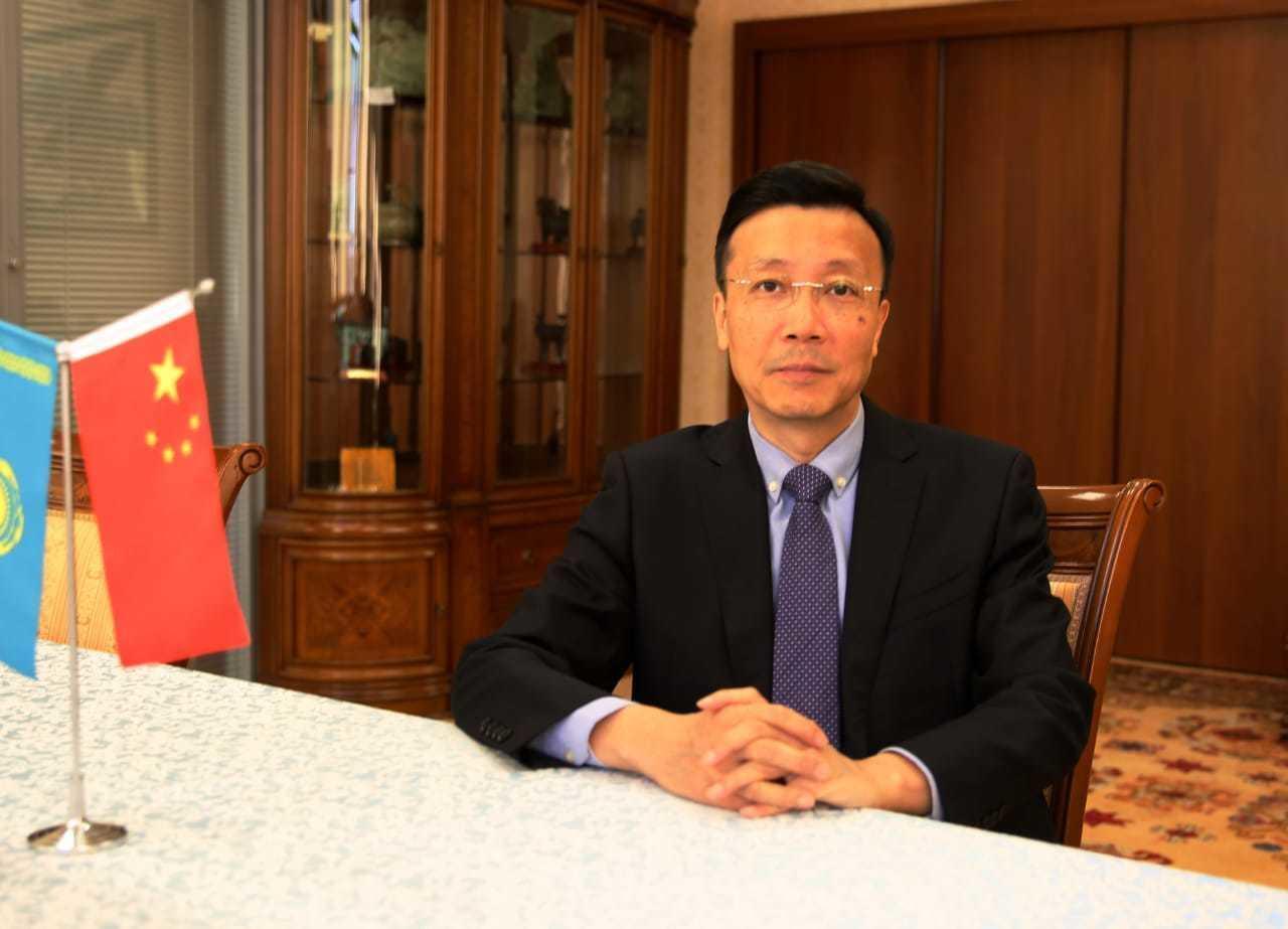 Фрагмент современного китайского Синьцзяна