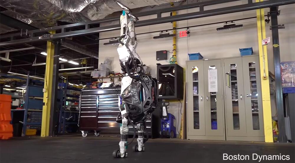 Андроид Atlas превратился в ловкого гимнаста
