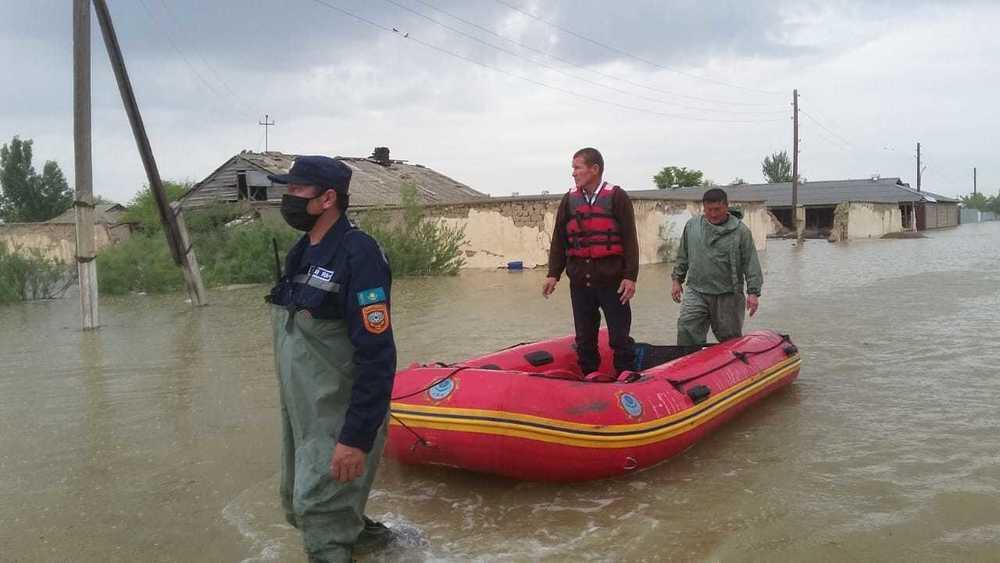 Ликвидация последствий ЧП в Туркестанской области