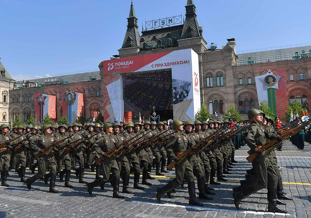 Парад Победы прошел на Красной площади в Москве. Фото:www.akorda.kz