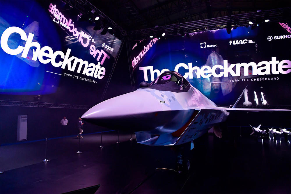 Russia unveils new fifth-generation fighter