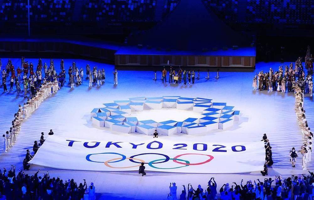 Токиодағы Олимпиада ойындарының ашылу салтанаты. СУРЕТ:tass.ru