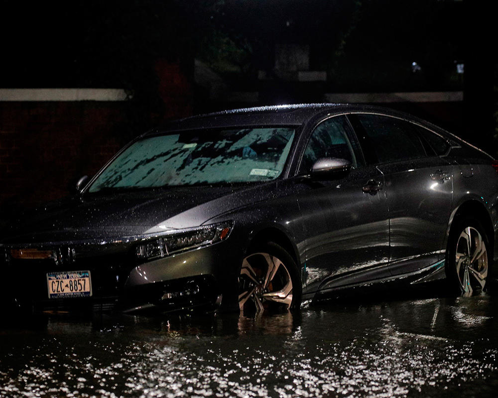 Aftermath of the Hurricane Ida strike in the northeastern United States. Images | russian.rt.com